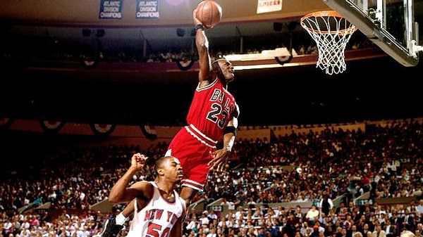 Майкл Джордан в составе Чикаго Буллз