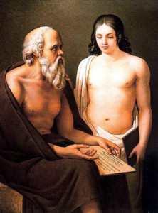 Сократ с Ксенофонтом