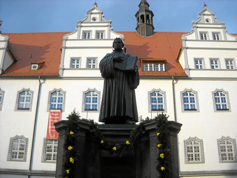 Памятник Мартину Лютеру