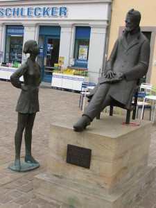 Памятник Ницше в Наумбурге