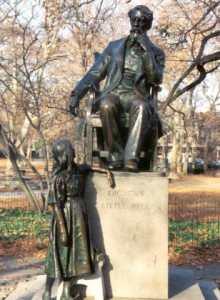 Памятник Диккенсу
