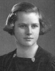 Маргарет Тэтчер в молодости