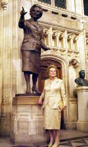 Памятник Маргарет Тэтчер
