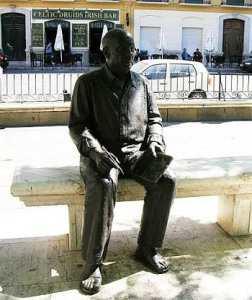 Малага, Испания. Площадь Plaza de la Merced