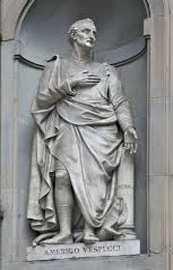 Памятник Америго Веспуччи во Флоренции vespucci2