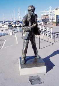 Памятник Джеку Лондону в Окленде