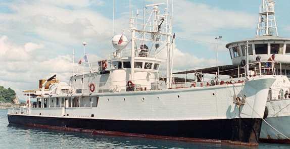 Корабль Кусто «Калипсо»