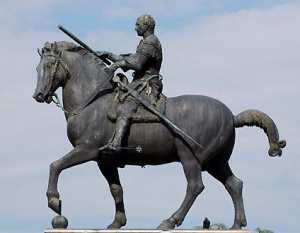 Конный памятник кондотьера Гаттамелата