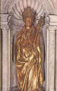 Скульптура святого Людовика Тулузского