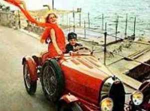Айседора Дункан на авто