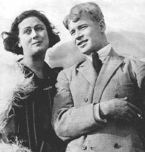 Айседора Дункан с Сергеем Есениным