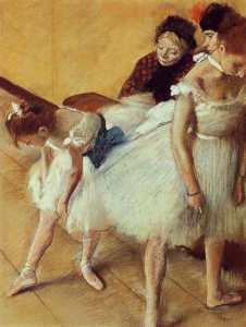 Эдгар Дега Экзамен танца