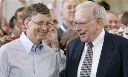 Уоррен Баффетт и Билл Гейтс