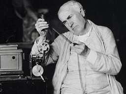 Томас Эдисон и кинетоскоп