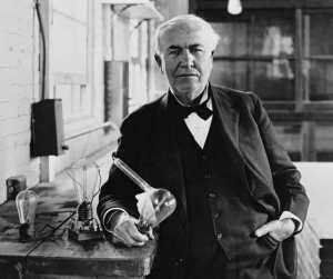 Томас Эдисон и лампочка