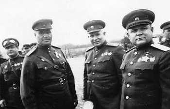 Ватутин и Хрущев