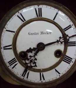 Часы Густава Беккера